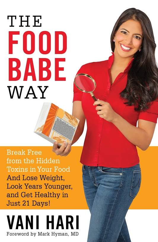 The Food Babe Way Cover Flat